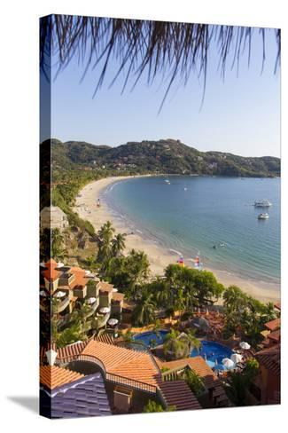 Club Intrawest, Playa La Ropa, Zihuatanejo, Guerrero, Mexico-Douglas Peebles-Stretched Canvas Print