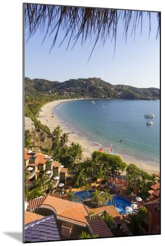 Club Intrawest, Playa La Ropa, Zihuatanejo, Guerrero, Mexico-Douglas Peebles-Mounted Photographic Print