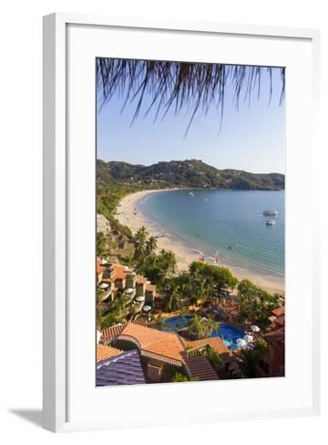 Club Intrawest, Playa La Ropa, Zihuatanejo, Guerrero, Mexico-Douglas Peebles-Framed Art Print