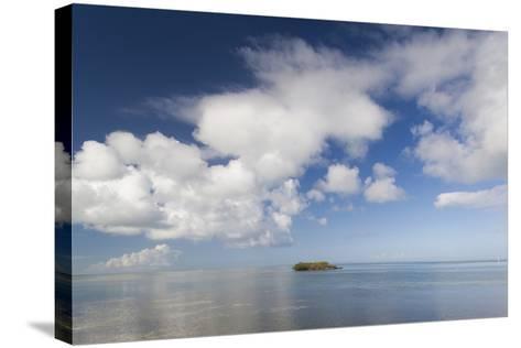 USA, Florida, Florida Keys, Marathon, View of the Gulf of Mexico-Walter Bibikow-Stretched Canvas Print