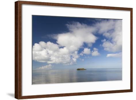 USA, Florida, Florida Keys, Marathon, View of the Gulf of Mexico-Walter Bibikow-Framed Art Print