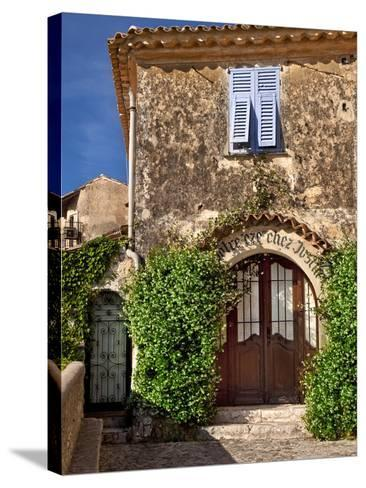 Historic Town of Eze, Provence, France-Brian Jannsen-Stretched Canvas Print