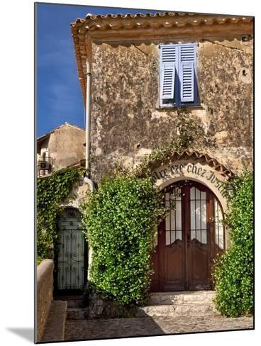Historic Town of Eze, Provence, France-Brian Jannsen-Mounted Photographic Print