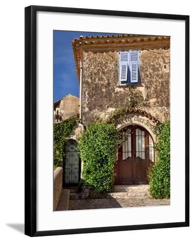 Historic Town of Eze, Provence, France-Brian Jannsen-Framed Art Print