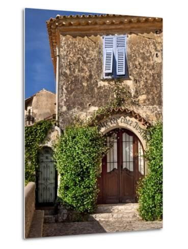 Historic Town of Eze, Provence, France-Brian Jannsen-Metal Print