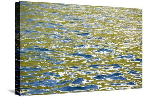 Caribbean, British Virgin Islands, Peter Island. Water Patterns-Kevin Oke-Stretched Canvas Print