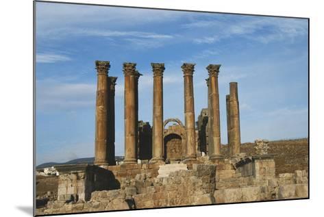 Jordan, Jerash, Temple of Artemis-Claudia Adams-Mounted Photographic Print