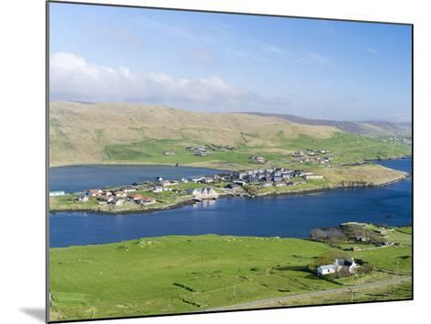 Hellister on the Shore of Weisdale Voe, Shetland Mainland, Scotland-Martin Zwick-Mounted Photographic Print
