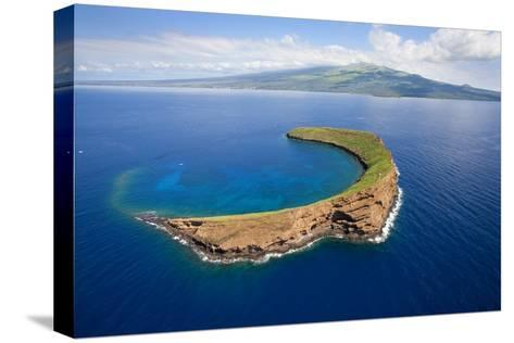 Molokini-Ron Dahlquist-Stretched Canvas Print