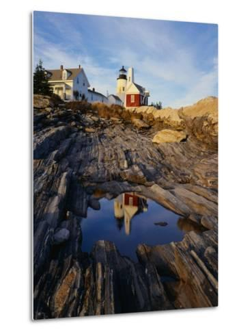 Pemaquid Lighthouse-James Randklev-Metal Print