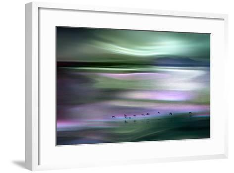Migrations - Green Sky-Ursula Abresch-Framed Art Print