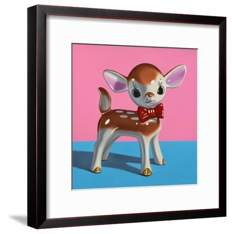 Dapper Deer-Cassie Marie Edwards-Framed Art Print