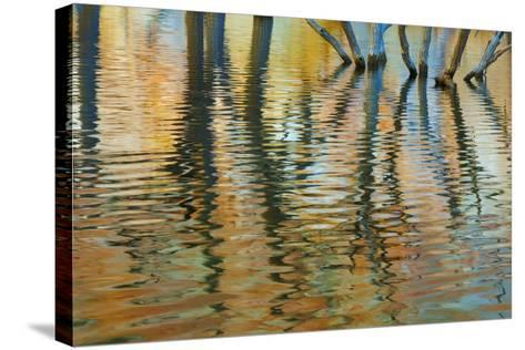 Lake Powell Reflections I-Kathy Mahan-Stretched Canvas Print