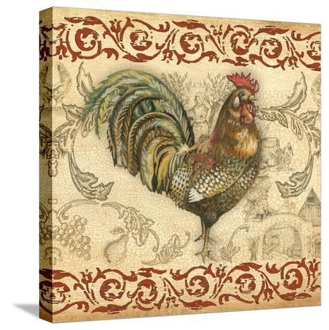 Toile Rooster III-Gregory Gorham-Stretched Canvas Print