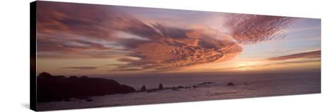 Sunset Sky III-Rita Crane-Stretched Canvas Print