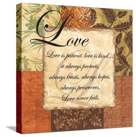 Love - special-Gregory Gorham-Stretched Canvas Print
