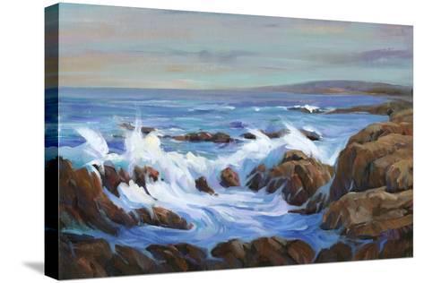 Seascape Faraway I-Tim O'toole-Stretched Canvas Print