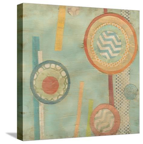 Bits and Pieces III-Erica J^ Vess-Stretched Canvas Print