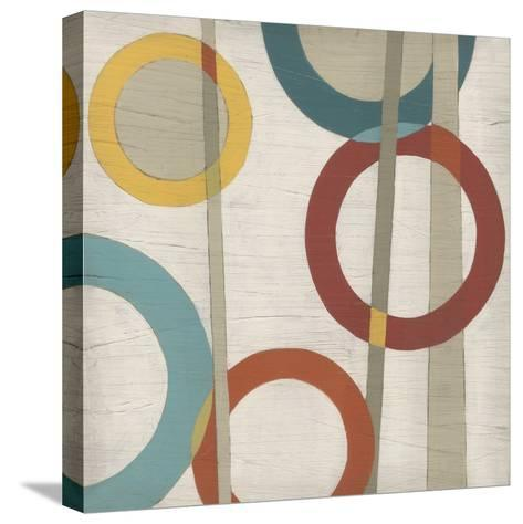 Circular Logic IV-Erica J^ Vess-Stretched Canvas Print