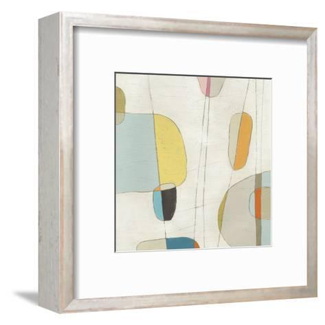 Molecular Motion I-Erica J^ Vess-Framed Art Print
