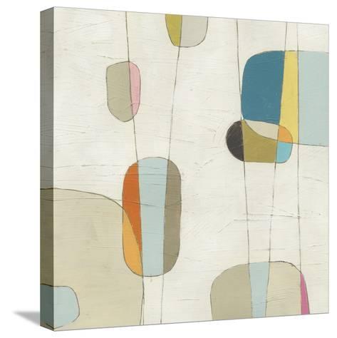 Molecular Motion II-Erica J^ Vess-Stretched Canvas Print