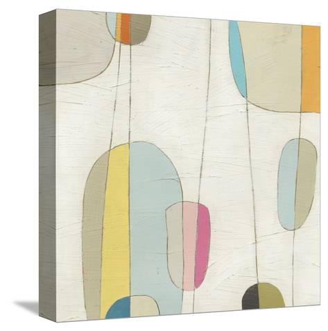 Molecular Motion IV-Erica J^ Vess-Stretched Canvas Print