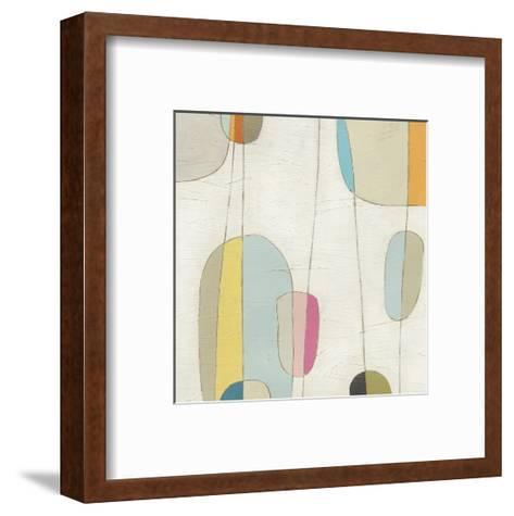 Molecular Motion IV-Erica J^ Vess-Framed Art Print