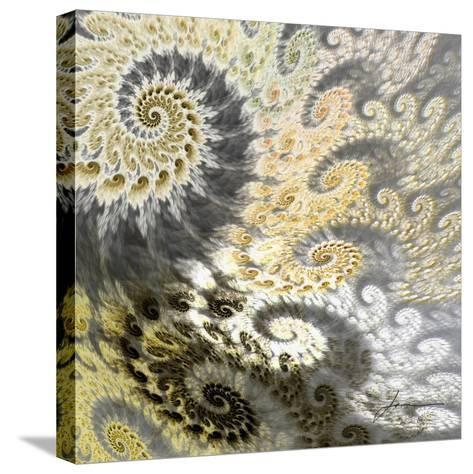 Fibonacci Tiles II-James Burghardt-Stretched Canvas Print