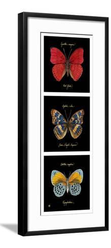 Primary Butterfly Panel I-Ginny Joyner-Framed Art Print