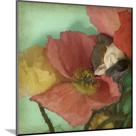 Aquatic Poppies I-Jennifer Goldberger-Mounted Art Print