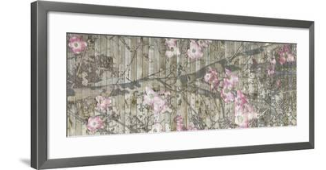 Dogwood Dance II-Jennifer Goldberger-Framed Art Print