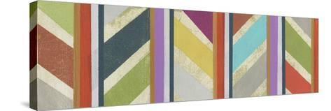 Old Chevron I-Jodi Fuchs-Stretched Canvas Print