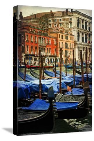 Venetian Canals I-Danny Head-Stretched Canvas Print