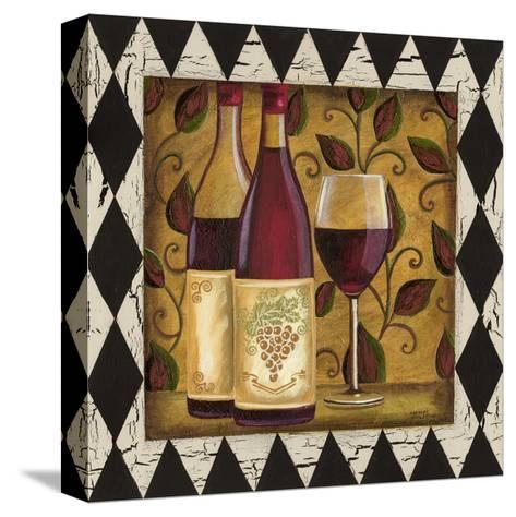 Harlequin and Wine I-Carolee Vitaletti-Stretched Canvas Print