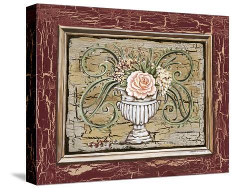 Antique White Vase III-Carolee Vitaletti-Stretched Canvas Print