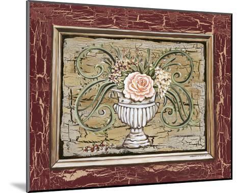 Antique White Vase III-Carolee Vitaletti-Mounted Art Print