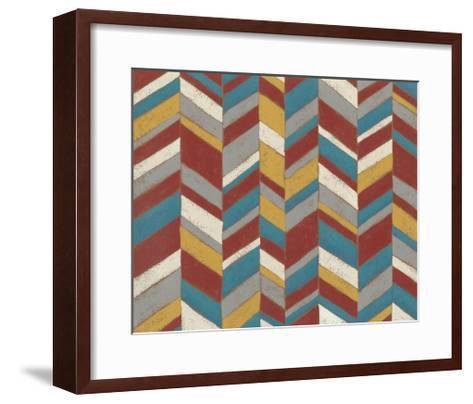 Modern Chevron II-Chariklia Zarris-Framed Art Print
