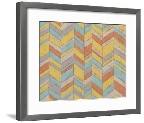 Modern Chevron III-Chariklia Zarris-Framed Art Print