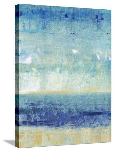 Beach Horizon I-Tim O'toole-Stretched Canvas Print