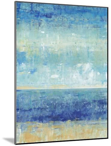 Beach Horizon II-Tim O'toole-Mounted Art Print