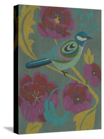Peony Chintz I-Chariklia Zarris-Stretched Canvas Print