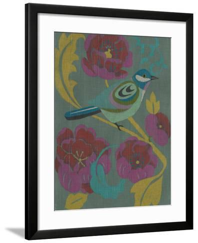 Peony Chintz I-Chariklia Zarris-Framed Art Print