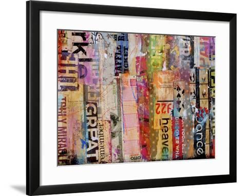 Metro Mix 21 III-Erin Ashley-Framed Art Print