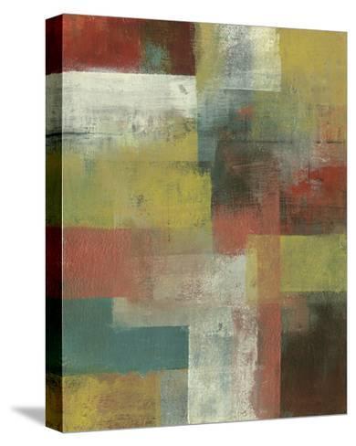 Amelia Island Blue II-W^ Green-Aldridge-Stretched Canvas Print