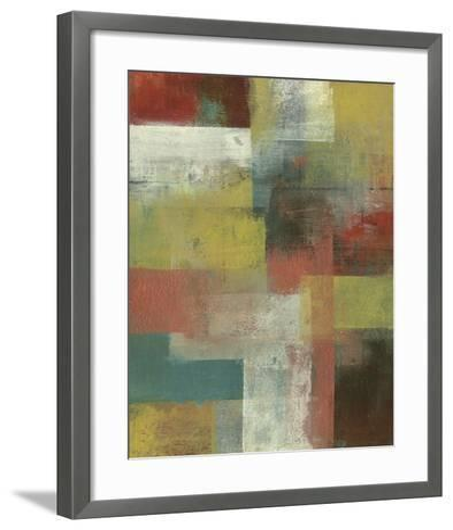 Amelia Island Blue II-W^ Green-Aldridge-Framed Art Print
