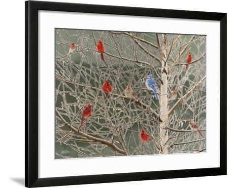 Ornaments-Fred Szatkowski-Framed Art Print