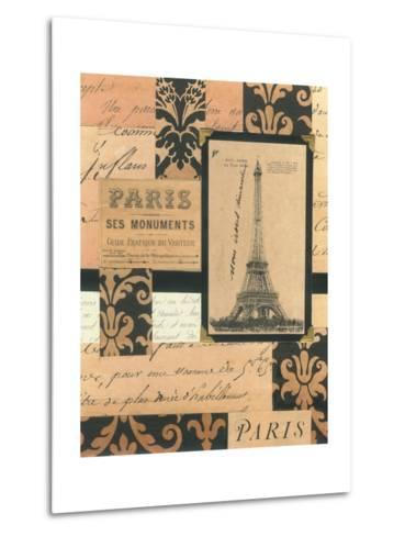 Travel Collage I-Gillian Fullard-Metal Print