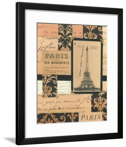 Travel Collage I-Gillian Fullard-Framed Art Print