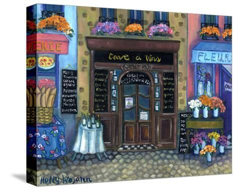 Wine Cave-Holly Wojahn-Stretched Canvas Print