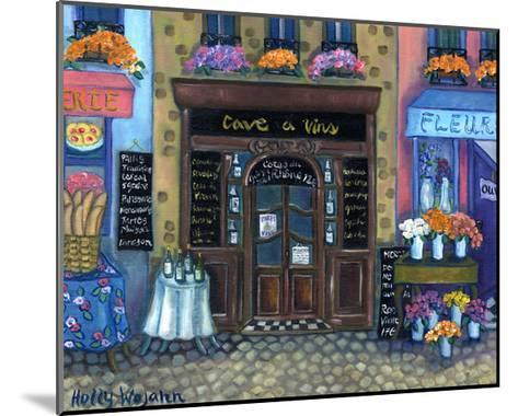 Wine Cave-Holly Wojahn-Mounted Art Print